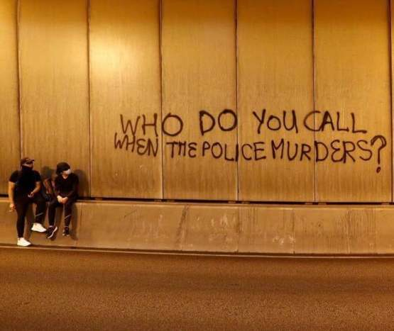 Spotted in Hong Kong: Who do you call when the police murders