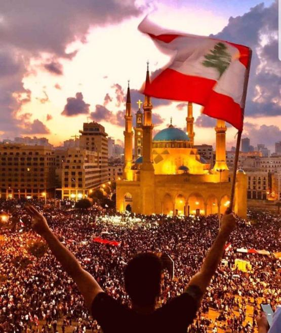 Day 6, over a million protesters gathered in major cities throughout Lebanon, still demanding for the complete resignation of the government.