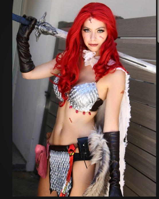 My Red Sonja Cosplay From Dragoncon