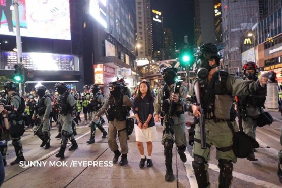 They say a picture is worth a thousand words. This is the situation in Hong Kong