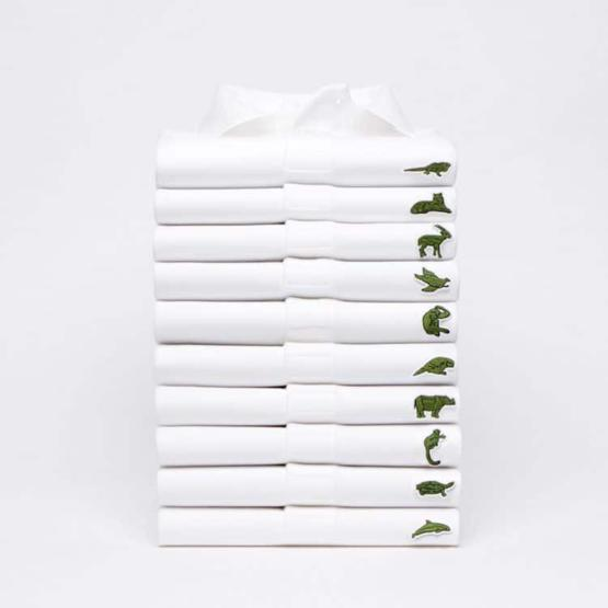 Lacoste replaces It's Crocodile Logo with 10 Endangered Species to Raise Awareness
