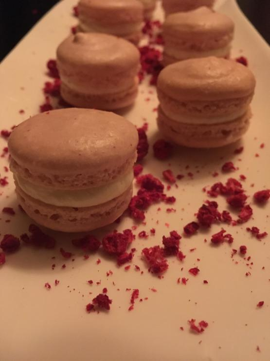 15M (aspiring chef) made macaroons this was my second attempt.