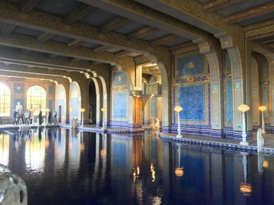 Hearst Castle's indoor Roman Pool