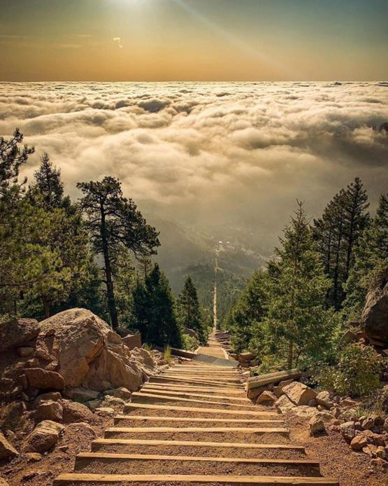 The Incline. in Manitou Springs, Colorado!