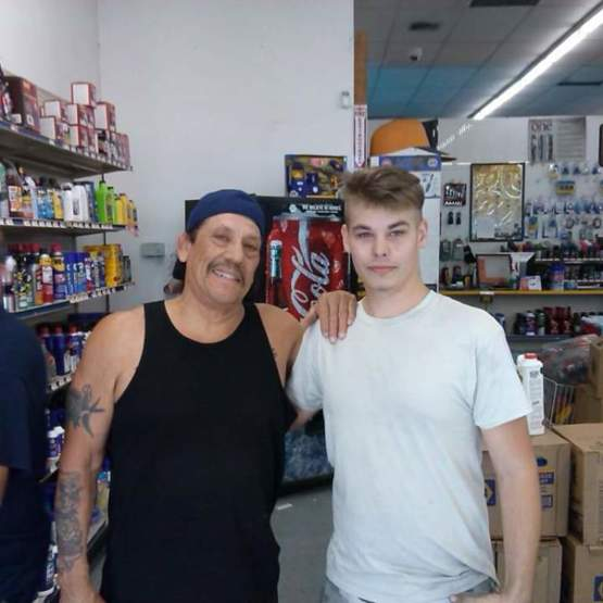 Met Danny Trejo at a NAPA about 6 years ago.