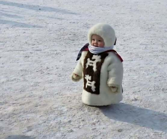 Me, When My Mom Feels Cold.