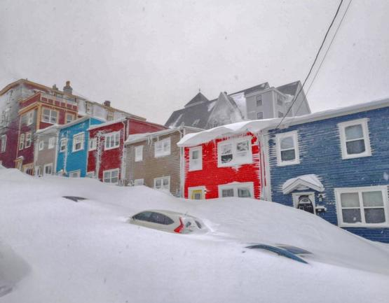 Another pic from the recent snow storm in Newfoundland.