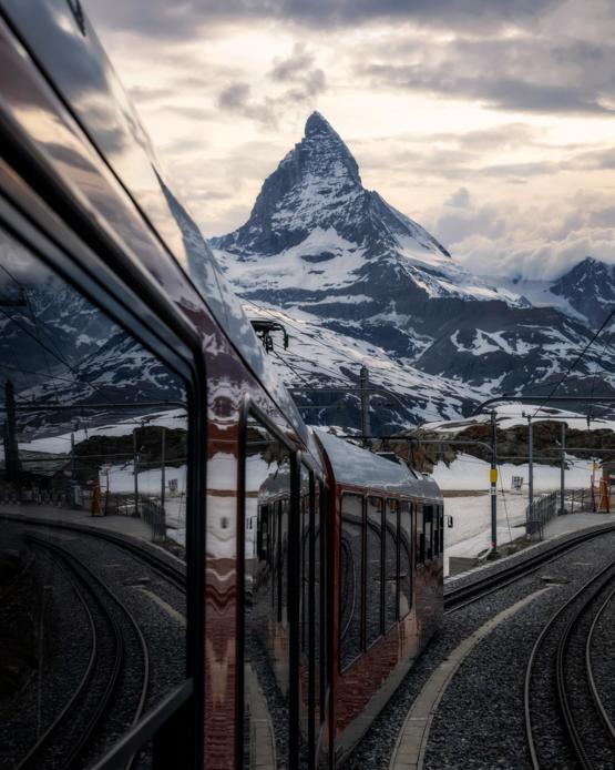 Taking the train in Switzerland is quite the experience