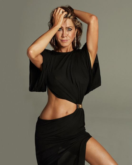 Jennifer Aniston in a new photoshoot for her 51st birthday
