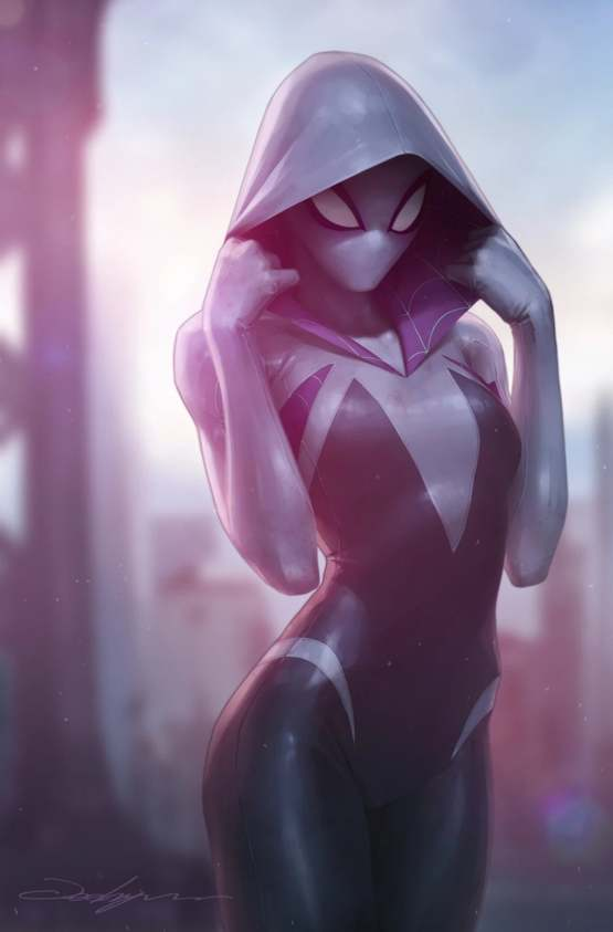 Spider-Gwen by Jeehyung Lee