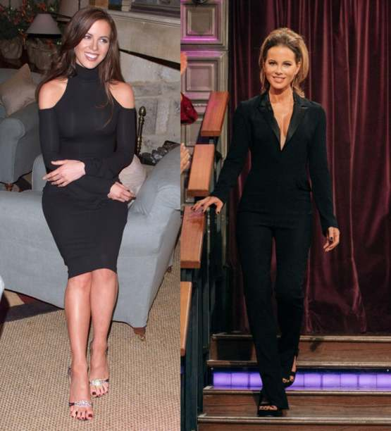 Kate Beckinsale at 28 and 46.