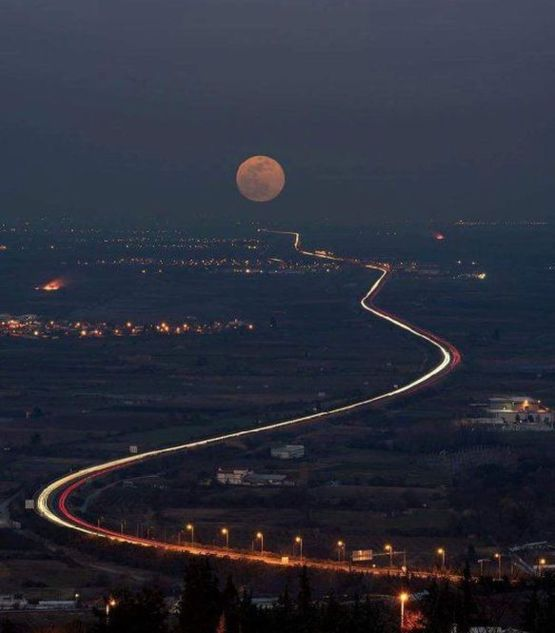 The Moon Road