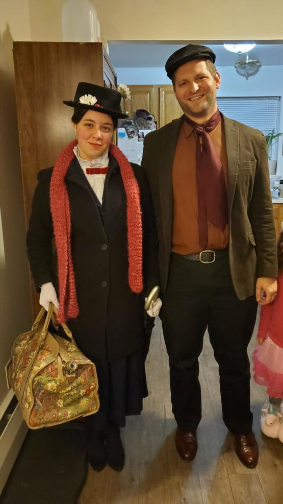My Wife and I as Mary Poppins and Burt