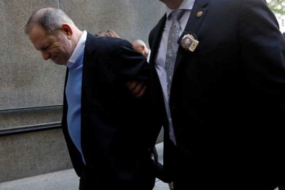 Weinstein miraculously no longer needs his walker after a guilty verdict. It's a miracle!