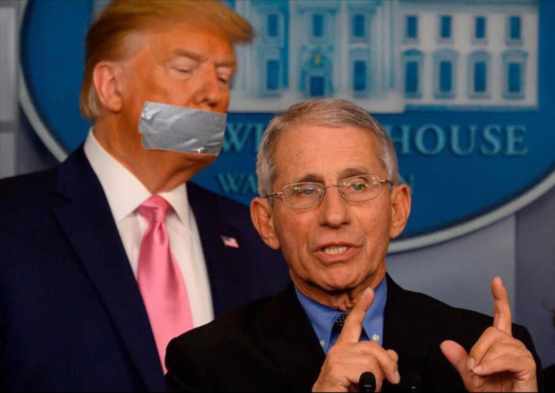 Dr. Anthony Fauci unveils a mask that could save millions of lives