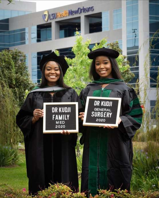 Mother and daughter both receiving medical degrees on the same day