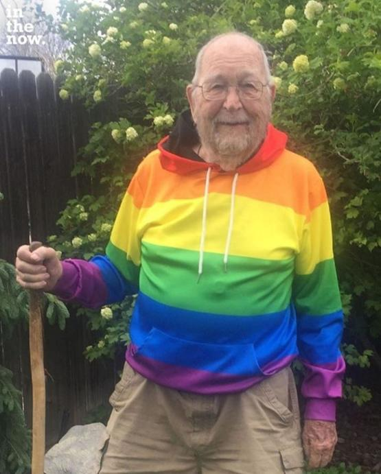 Kenneth Felts, came out at 90 after being all his life in the closet. Credits In The Now