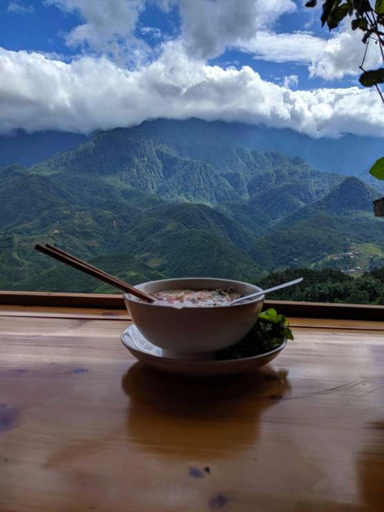 Pho with a view