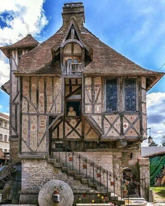 This beautiful home in France was built in 1509.