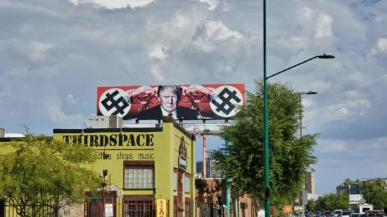 This billboard I saw in Phoenix