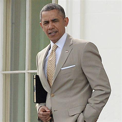 The good old days when Obama's suit was the biggest story in the media.