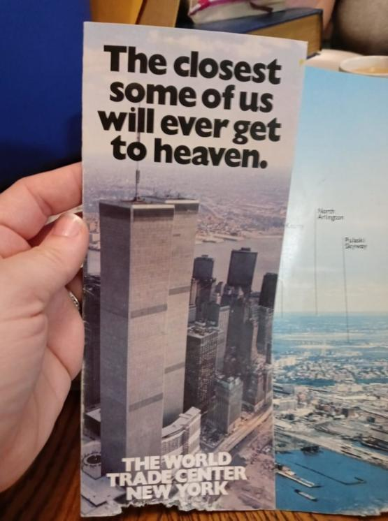 Early 1980s for the World Trade Center.