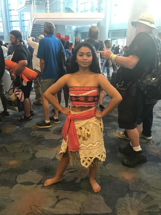 This Moana cosplay