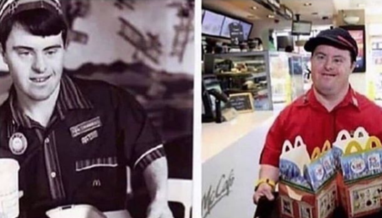 McDonald's worker with Down Syndrome retires after 32 years!