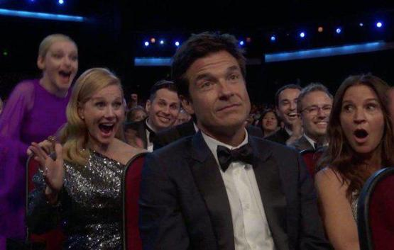 Jason Bateman winning Emmy for Outstanding Direction of a Drama Series