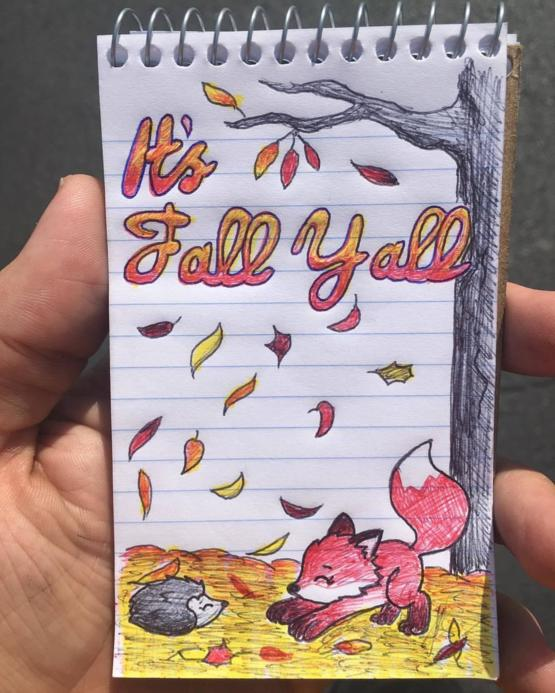 Work doodle for Fall