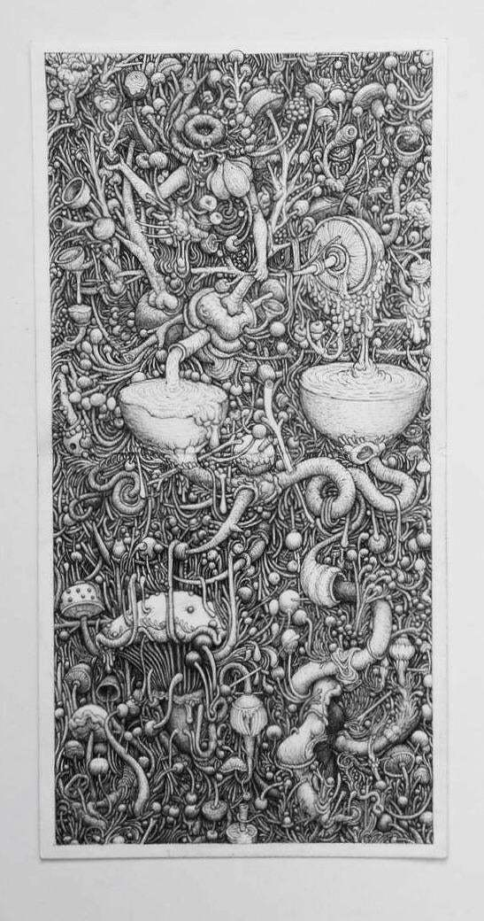Sharing my ballpoint pen drawing with you all.
