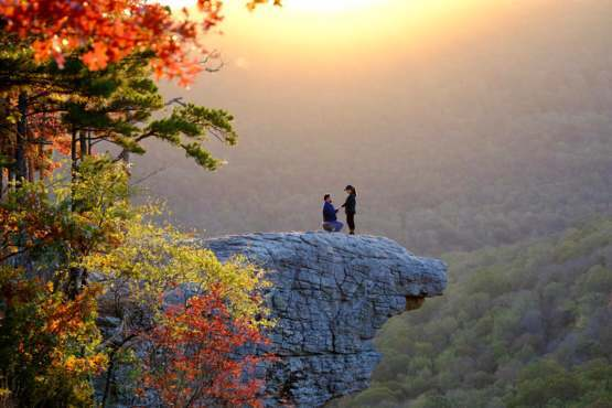Such a beautiful scene my wife and I encountered while doing a sunrise hike.