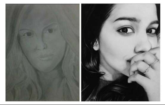 My pencil drawing progress in 3 years, 2014 to 2017