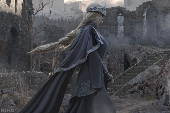 My cosplay Fire Keeper from Dark Souls 3
