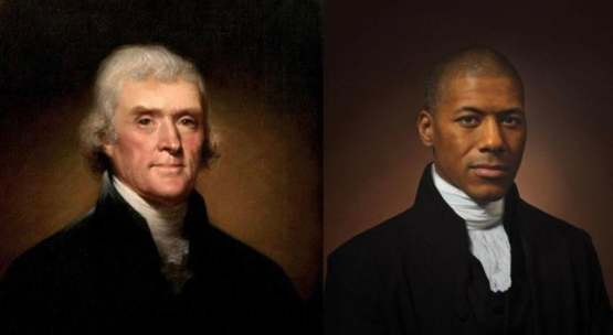 Thomas Jefferson's sixth great grandson recreates his photo