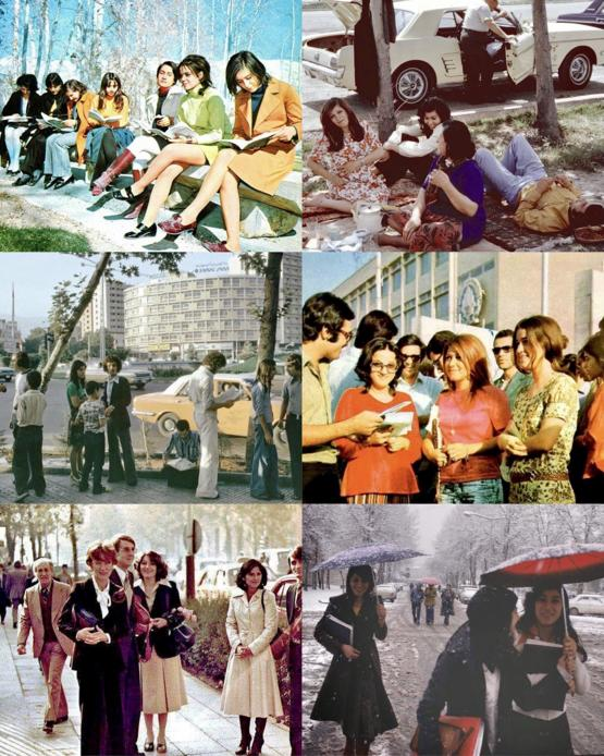 Iran, before the 1979 Islamic Revolution