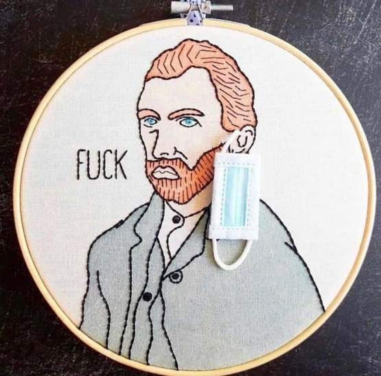 Vincent was lucky not having to wear one of these...