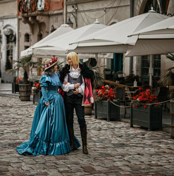 Me and my husband did Sophie and Howl from Howls Moving Castle (by fenixfatalist)