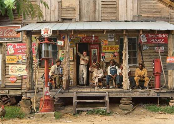 North Carolina Country Store in 1939