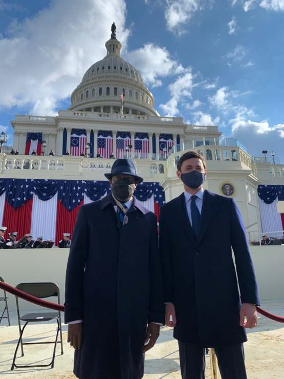 There's two new guys in DC today too