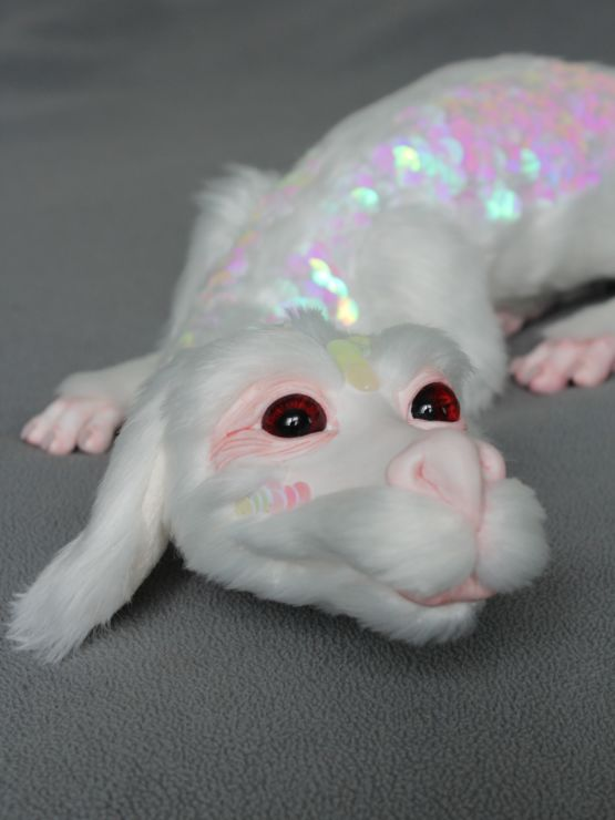 Falkor doll from The Never Ending Story