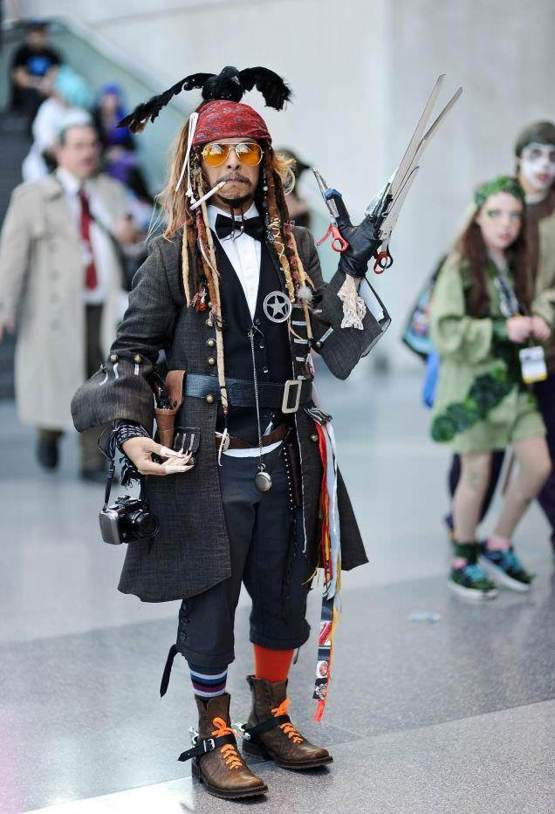 Every Johnny Depp in one cosplay