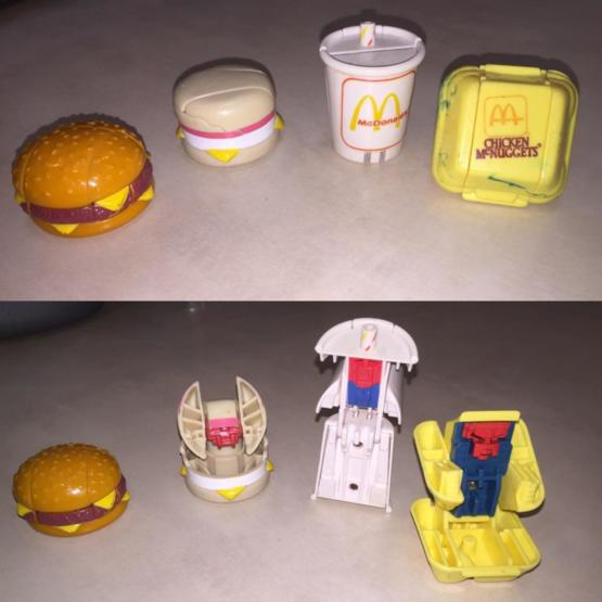 McDonald's toys from 1987