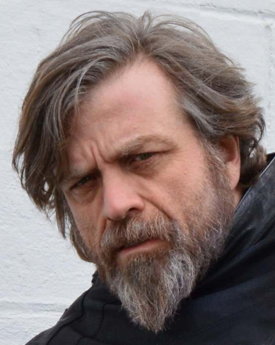 I'm not Mark Hamill. This was taken after I did an event for charity.