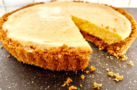I made my first Key Lime Pie. It's delicious!