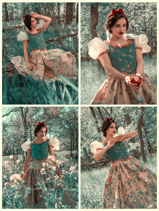 Had a friend design an outfit for a Snow White inspired photoshoot!