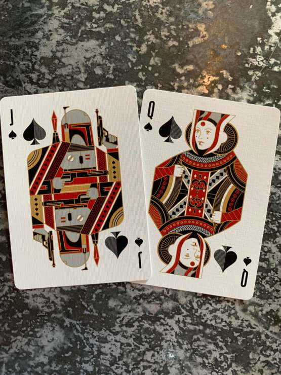 I love my new playing cards.