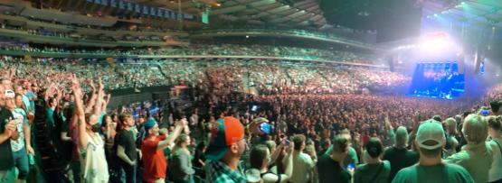 Just me and 40,000 vaccinated fans rocking out to the Foo Fighters at Madison Square Garden