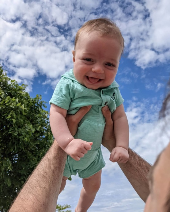 My first Father's Day is today! So smitten with him.