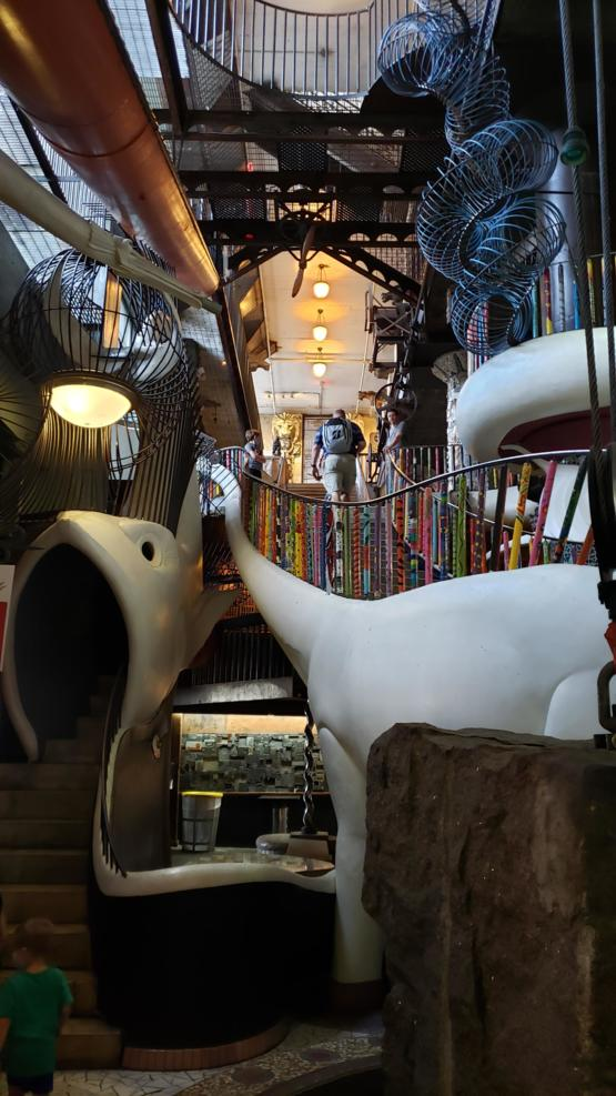 The City Museum in St Louis is one of the craziest places I've ever seen